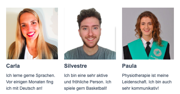 Spanische Physiotherapeuten lernen Deutsch